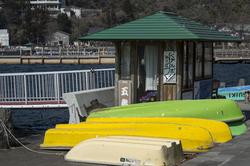 芦ノ湖のボートハウス