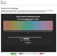 Online Color Challengeの結果