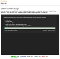 Online Color Challengeスコア