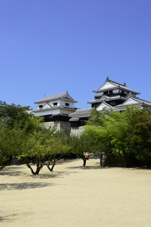 松山城景観