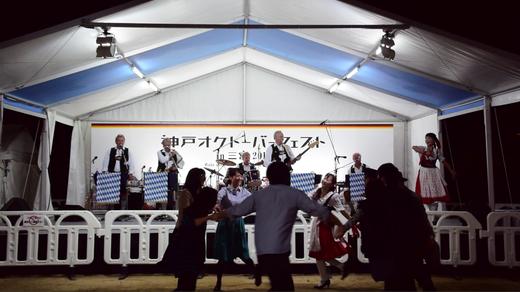 神戸オクトーバーフェスト in 三宮 2014ステージ
