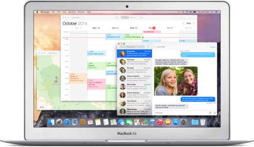 OS X Yosemite Design