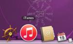 iTunesの青いアイコンが赤くなっていた