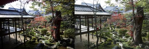 大覚寺回廊