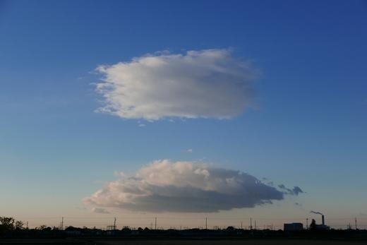 名古屋の朝雲