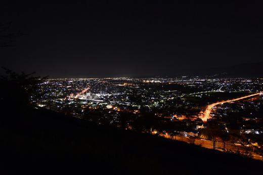 松田山からの夜景