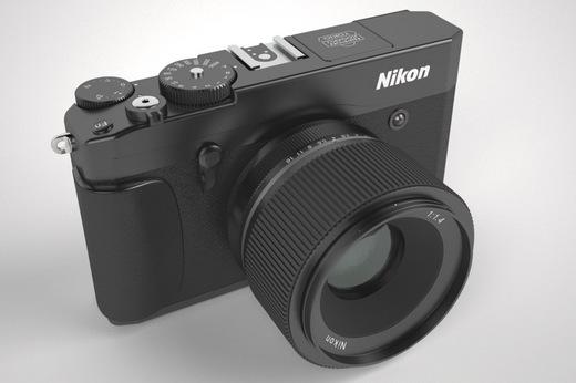 Nikon mirrorless camera concept/mockup