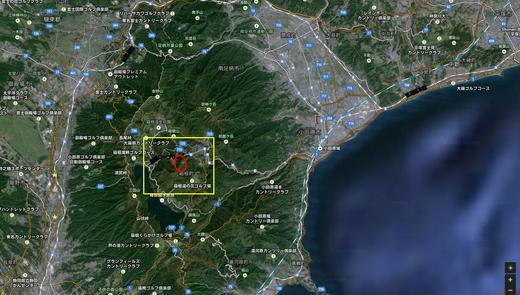 箱根の警戒エリア