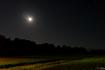 六原の月夜、星空