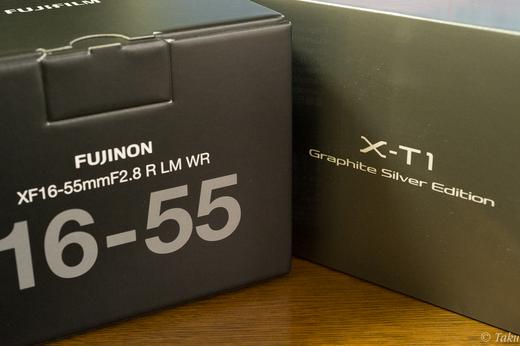 X-T1とXF16-55のハコ