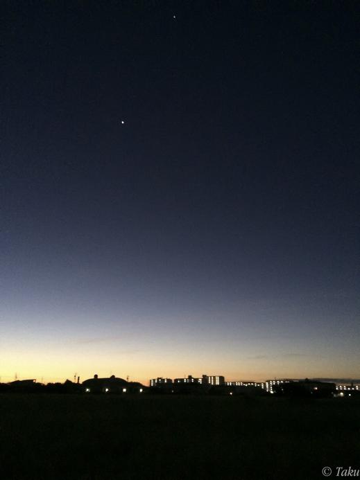 名古屋県の夜明け