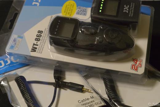 ワイヤレス マルチタイマーコントローラー(JJC WT-868)
