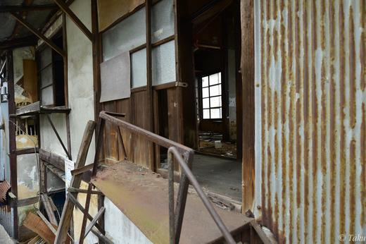 放置されている廃屋