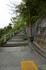 尾道城へ通じる急な坂道