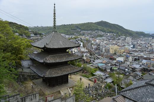 天寧寺の三重の塔