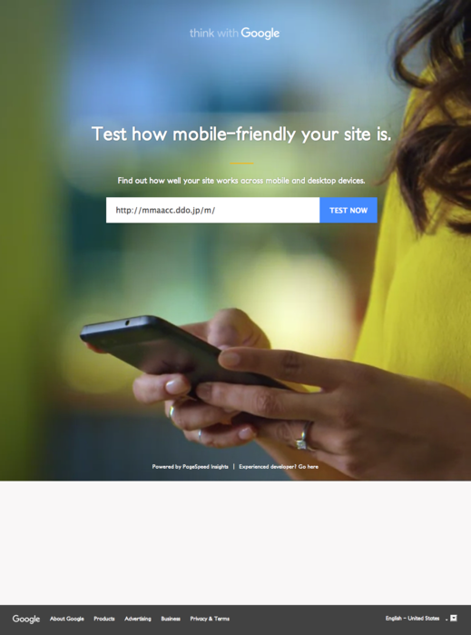 Mobile Website Speed Testing Tool - Google