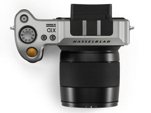 ハッセルブラッド「X1D」上面