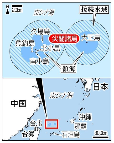 尖閣諸島接続水域